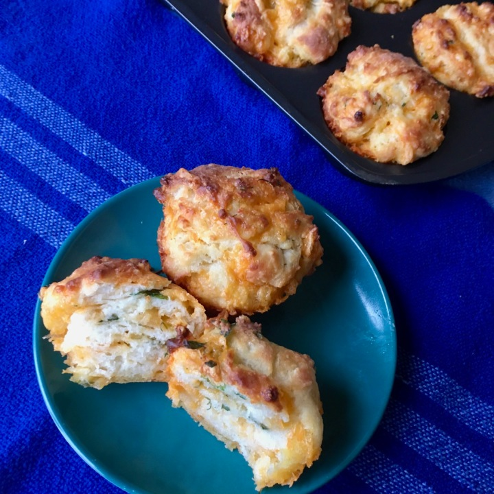 Pull Apart Cheddar Herb ButtermilkBiscuits