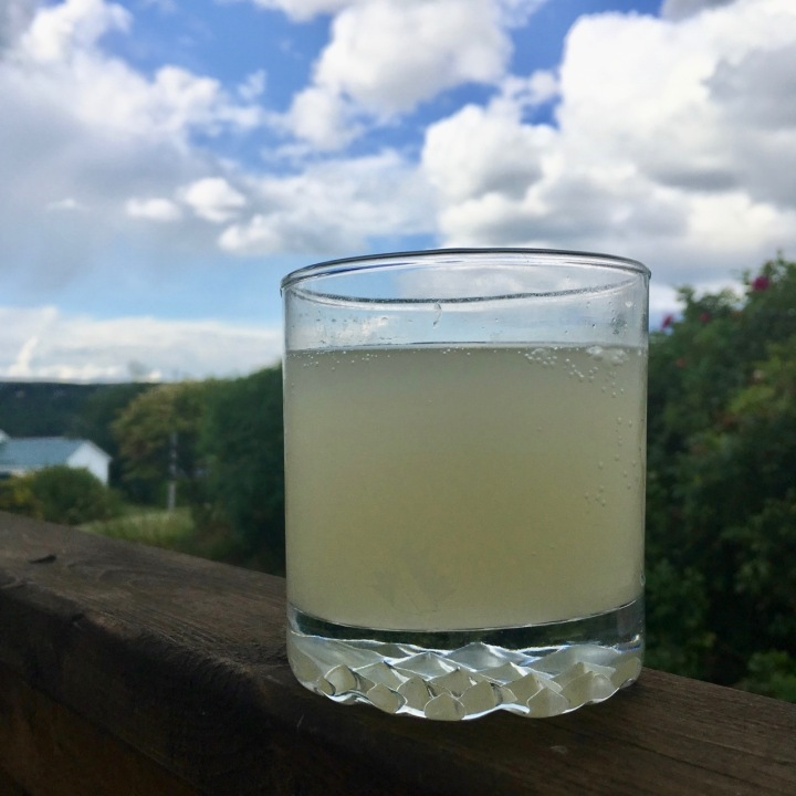 Homemade Fizzy Ginger Beer